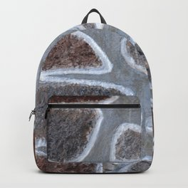 Stone wall colour 2 Backpack
