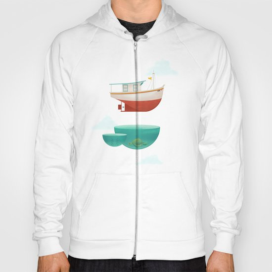 Floating Boat Hoody