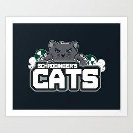 Schrodinger's Cats Art Print