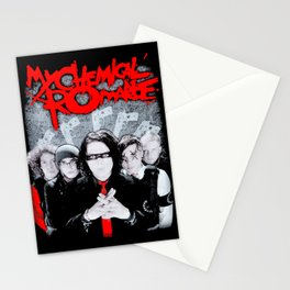 My Chemical Romance Stationery Cards