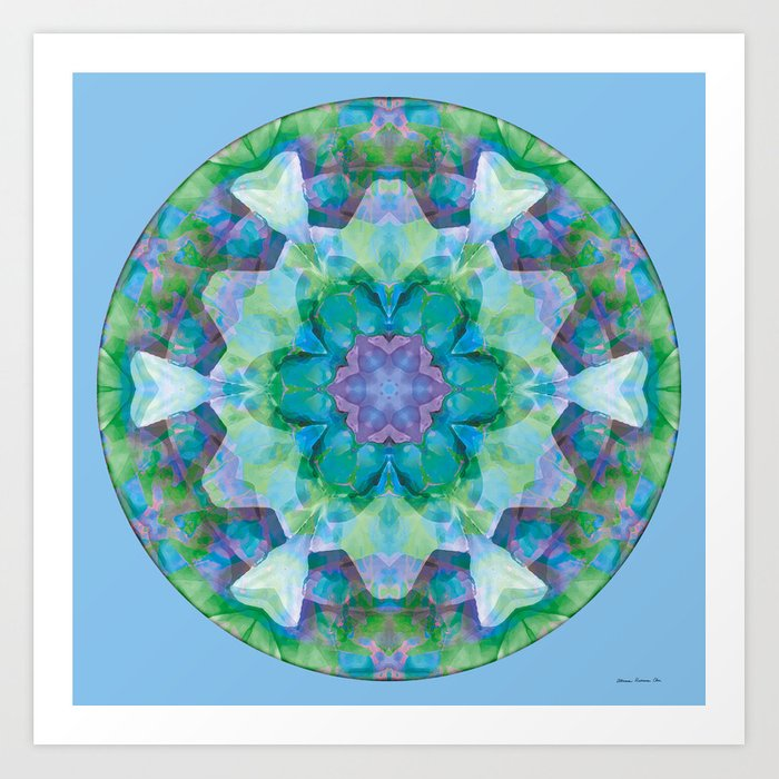 Mandalas of Healing and Awakening 10 Kunstdrucke