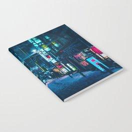 From My Umbrella -Snowy Night- Notebook