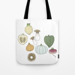 Vegetables (color) Tote Bag