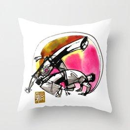Capoeira 748 Throw Pillow