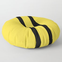 Bruce Bee Bumble Lee Stripes Floor Pillow