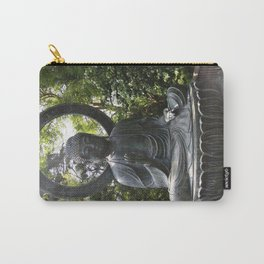 Tea Garden Buddha Carry-All Pouch