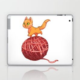 Kitten On Yan Laptop & iPad Skin