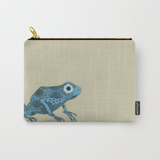 Little blue frog Carry-All Pouch