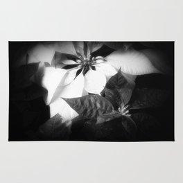 Mixed Color Poinsettias 2 Dark Rug