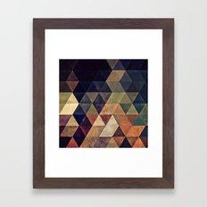 fyssyt pyllyr Framed Art Print