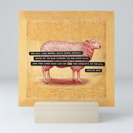 Like Sheep Mini Art Print