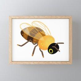 Honey bees Framed Mini Art Print