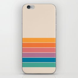 Boca Spring Stripes iPhone Skin