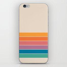 Boca Spring Stripes iPhone Skin