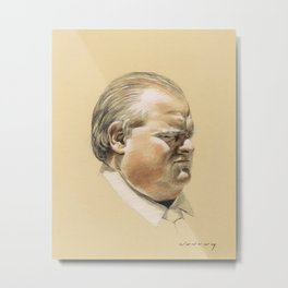Ford the Philosopher Metal Print