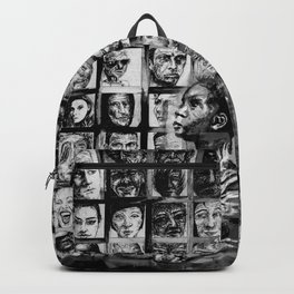 FACE IT - lullaby child - bw Backpack