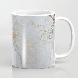 Stylish blush teal gold elegant abstract marble Coffee Mug