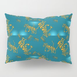 Tiger Pattern Pillow Sham