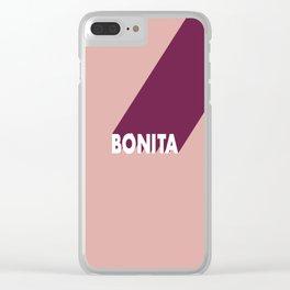 BONITA Clear iPhone Case