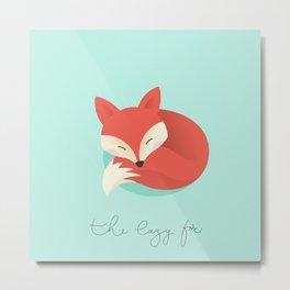 The lazy fox Metal Print