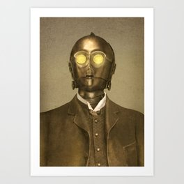 Baron Von Three PO  Art Print