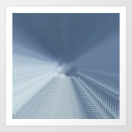 Square sky Art Print