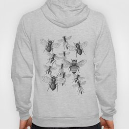 Bees and wasp Flying Hoody