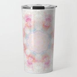 Mandala Pink Travel Mug