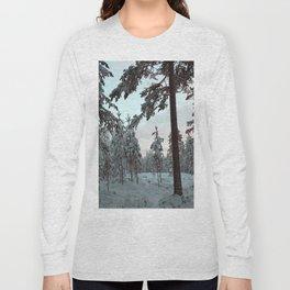 Morning Winter Light Long Sleeve T-shirt