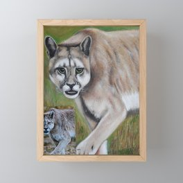 Felino Framed Mini Art Print