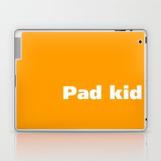 Pad kid poured curd pulled cold #1 - Tongue Twisters Laptop & iPad Skin