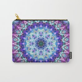 Sacred Lotus Mandala Carry-All Pouch