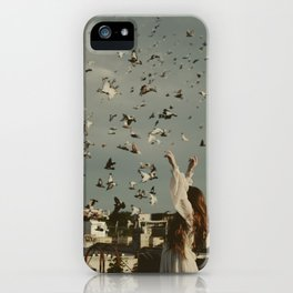 Some land holds a home iPhone Case