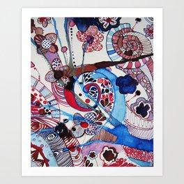 bl. Art Print