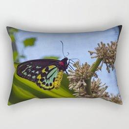 The Birdwing Butterfly Rectangular Pillow