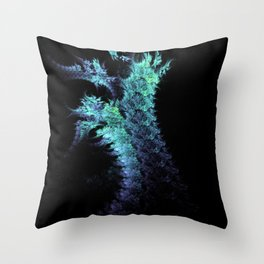 fractal claw Throw Pillow