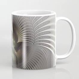 Stand Up, Abstract Fractal Art Coffee Mug