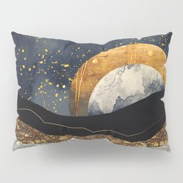 Metallic Mountains Pillow Sham