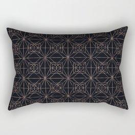 Autumn Tiles (Night ver.) Rectangular Pillow