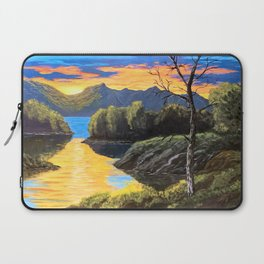 """Psalm 46:10 """"Be still and know that I am God..."""" Laptop Sleeve"""