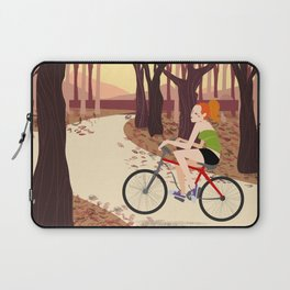 Bike Girl Laptop Sleeve