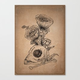 The Stench of Life Canvas Print