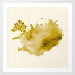 Iceland v2 Art Print