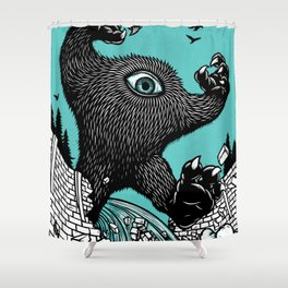Kick Out The Dams! Shower Curtain