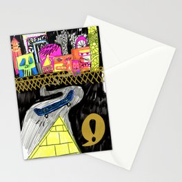 Outside Looking in Looking Out Stationery Cards