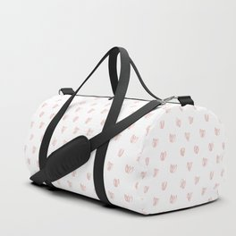 Be My Valentine - Heart Pattern Duffle Bag