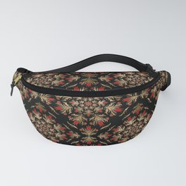 Turkish tulip - Ottoman tile pattern 15 Fanny Pack