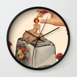 Breakfast time Wall Clock