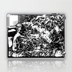 Burning Monk Laptop & iPad Skin