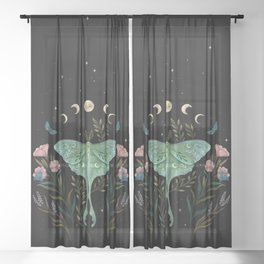Luna and Forester Sheer Curtain